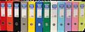 Producto 092479, Descripción: UNISYSTEM ARCHIVADOR COLOR. FORRADO PLASTICO. FORMATO FOLIO. LOMO 70MM. 6 UDS. COLOR NEGRO. REF.92479