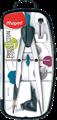 Producto 291010, Descripción: MAPED COMPAS CON BIGOTERA, ABRAZADERA UNIVERSAL Y ESTUCHE MINAS. ALTA PRECISION. Ø MAX:300 MM. REF.291010